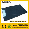 6.7dB More Bass Qutput GY-08 car noise insulation material foam fibre acoustic foam