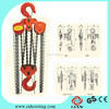 10T Top Quality HSZ Series Manual Hoist Hand Chain Block