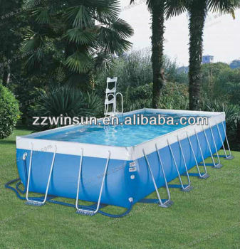 Hot sale commercial above ground hard swimming pool buy - Commercial above ground swimming pools ...