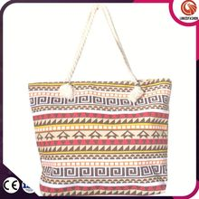 Attractive and durable classical china wholesale tote bags beach canvas bags