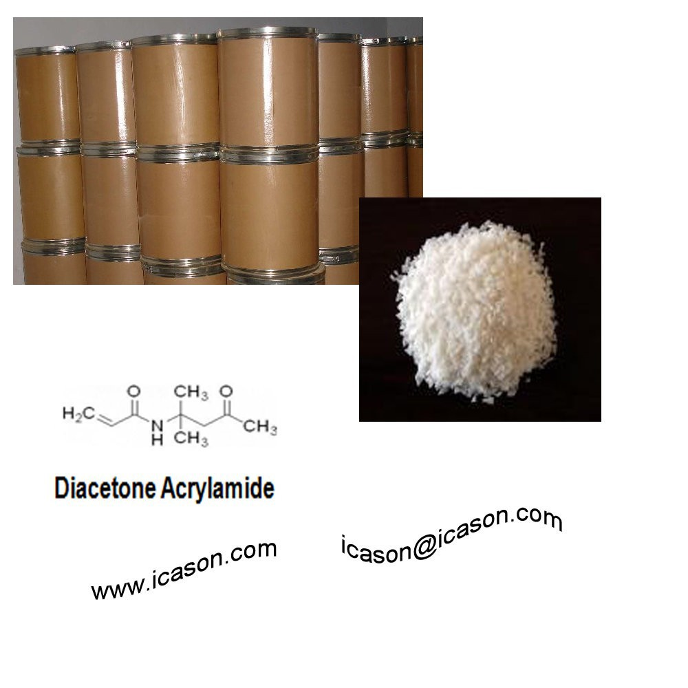 Chemicals Diacetone Acrylamide(DAAM) Factory offer directly