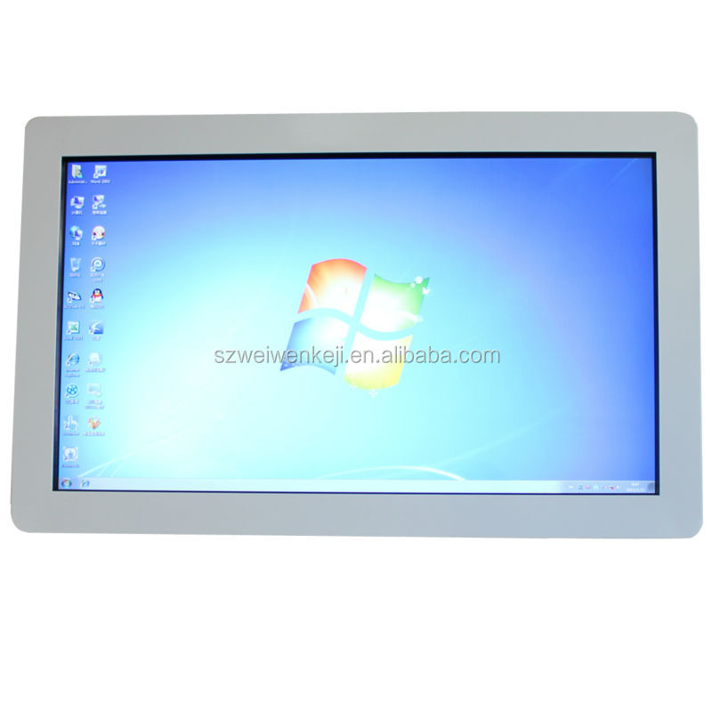 wall mounted or floor stand pc tv all in one touch screen 32 inch