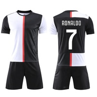 2019-20 Thai Quality Sublimation Soccer Uniform Print Name and Number Football Shirt