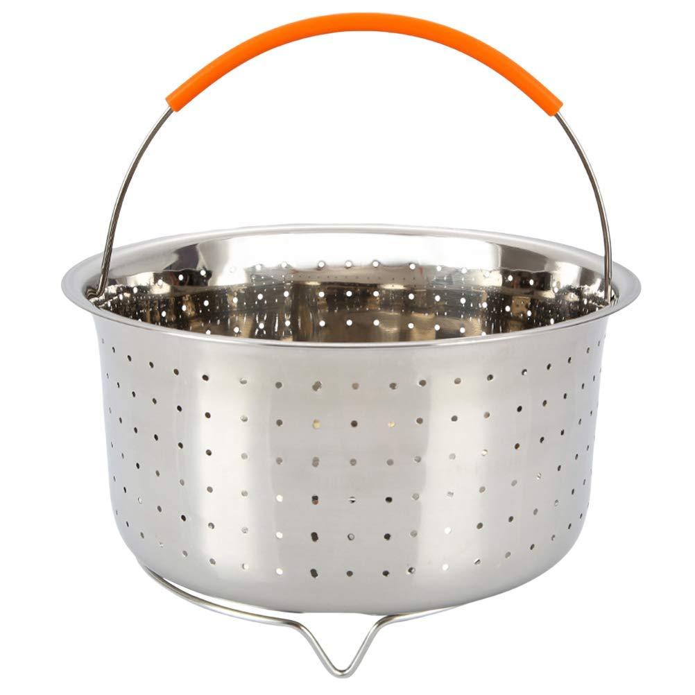 BESTONZON Stainless Steel Thick Stockpot Large Capacity Multipurpose Rice Bucket with Lid