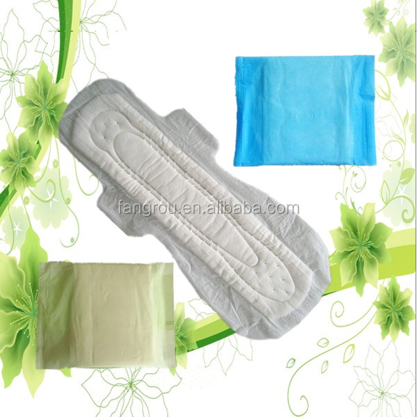 Chinese lady maxi pad with disposable dry cotton fresh
