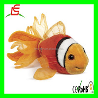 LE B0253 2016 new design clown fish sea animal plush stuffed toy