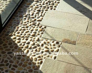 Pebblestone Flooring Home Ideas
