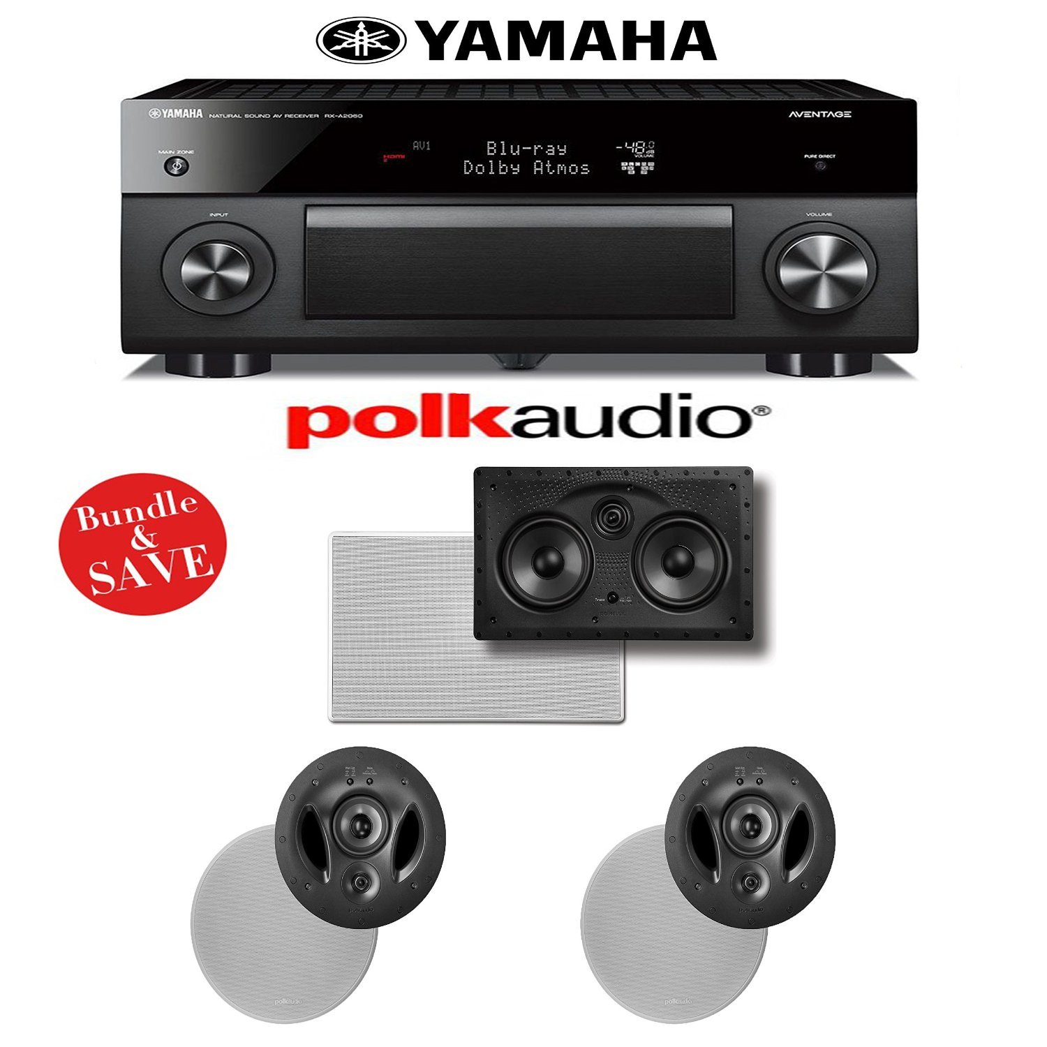Buy Yamaha RX-A2060BL AVENTAGE 9 2-Channel Network A/V Receiver +