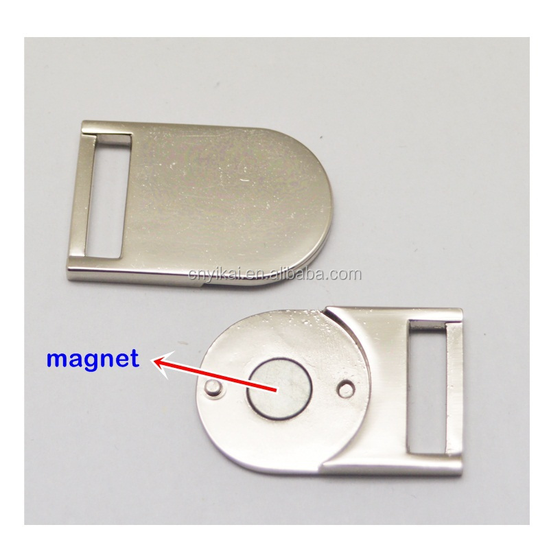 Yikai Custom Magnetic Buckles Metal Backpack Clips Buckle With ...