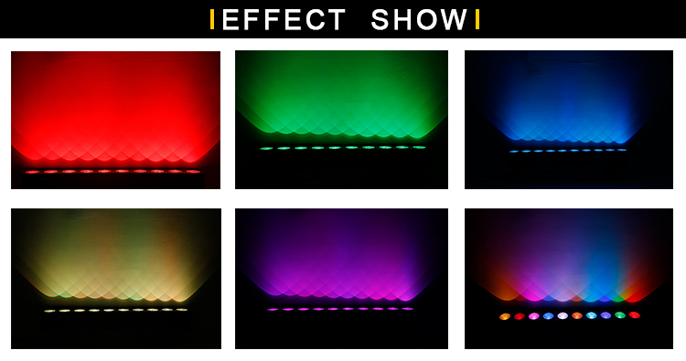 10 eyes dmx led light 9W COB RGB LED pixel bar IP20 for indoor use