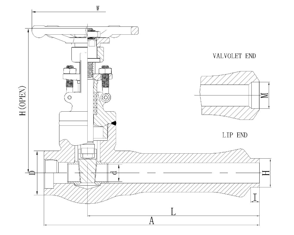 Extended body gate valve welded bonnet view extended body gate extended body gate valve welded bonnet pooptronica Images