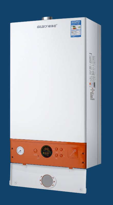 digittal control gas heater with environment protection