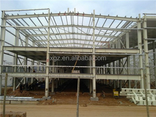 demountable fast construction steel structure design