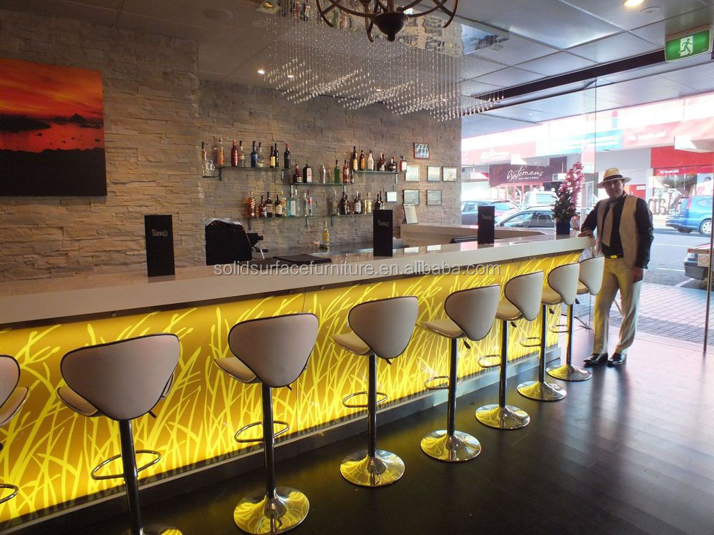 Bar counter designs for restaurants Bar counter design