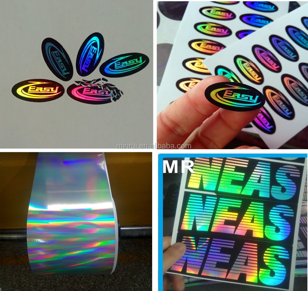 50 Discount Holographic Non Removable Stickers Vinyl