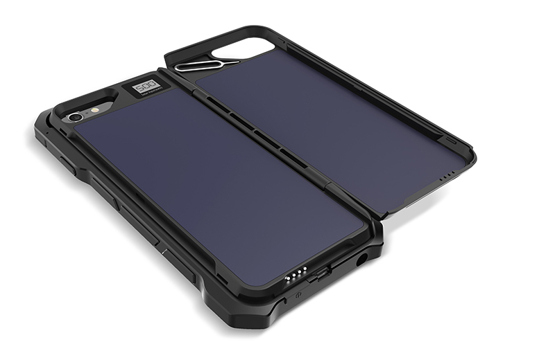 rugged phone case , 6 2500mAh solar power phone case,phone case solar