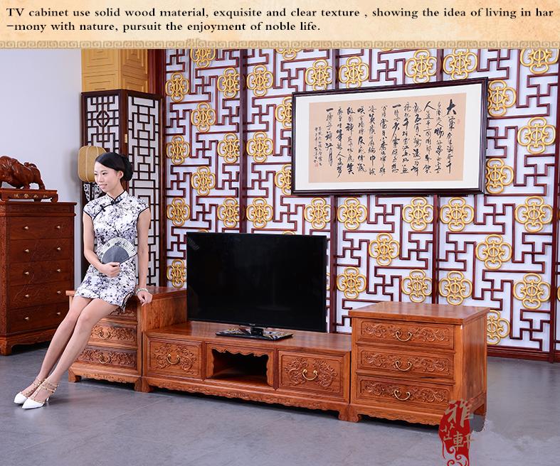 Nieuwe ontwerp italiaanse moderne stijl massief houten woonkamer meubels tv stand op verkoop for Moderne stijl kamer