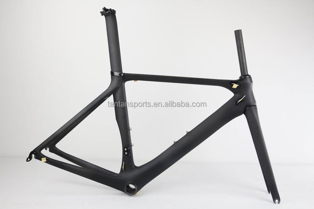Carbon cycling Race bike frame AERO design Di2 road bicycle frame FM268 , TANTAN company production , best price ,cheaper