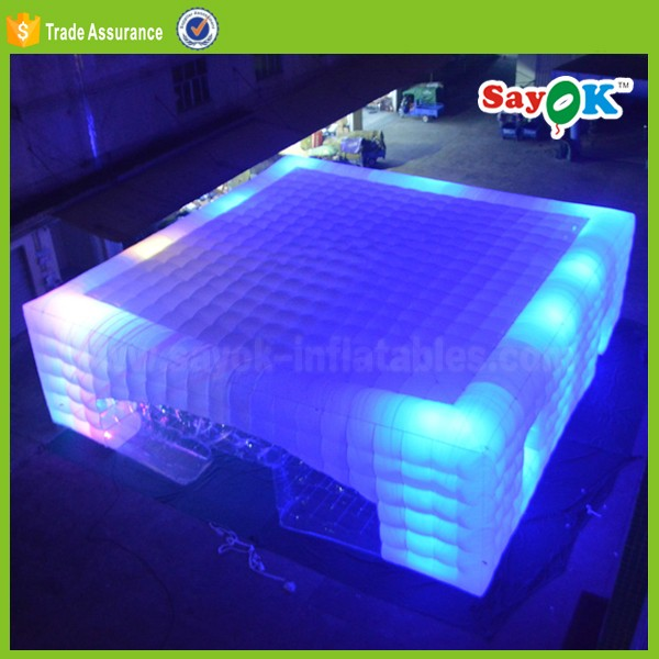 20x20 giant inflatable tent for sale Led bubble air inflatable dome price for party event