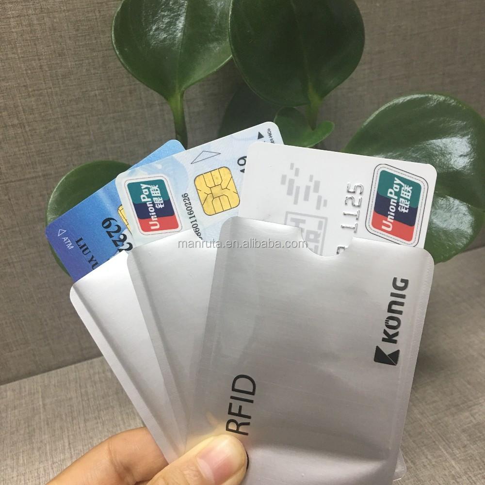 Sichere Kreditkarte
