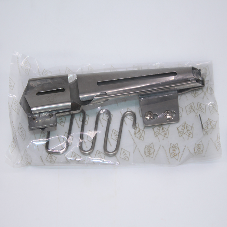 Industrial Coverstitch sewing machine folder parts CY158 K710NA(A) S123A DYP brand Right Angle Bias Binder