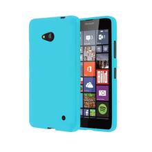 Lovme Classical Silicon Gel Glossy Soft Jelly TPU Back Cover For Nokia Lumia 640 640 XL Case