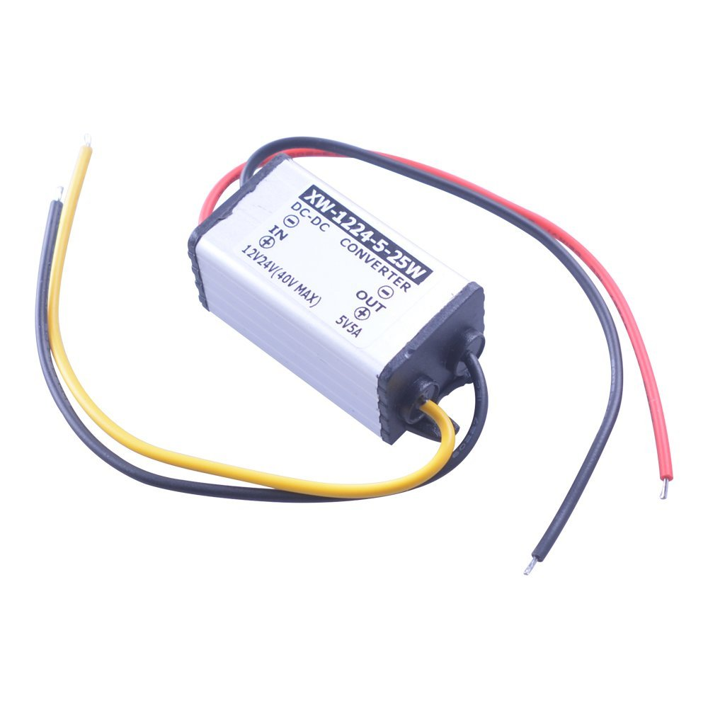 Cheap 12v To 5v Circuit Find Deals On Line At Short Electronics Get Quotations Eweadcar Power Converter With Protection Dc12 24v 5a 25w