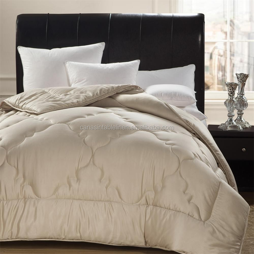 Good price jacquard hotel quilt and comforter