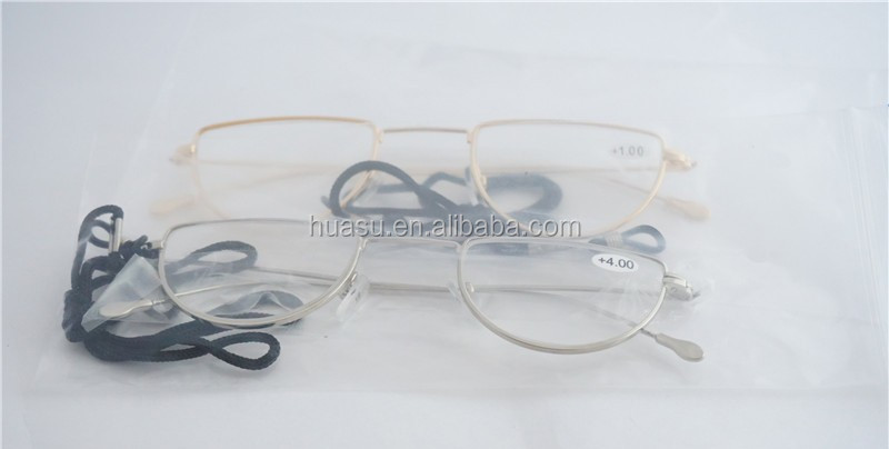 moon-round titanium alloy reading glasses Latest metal reading glasses