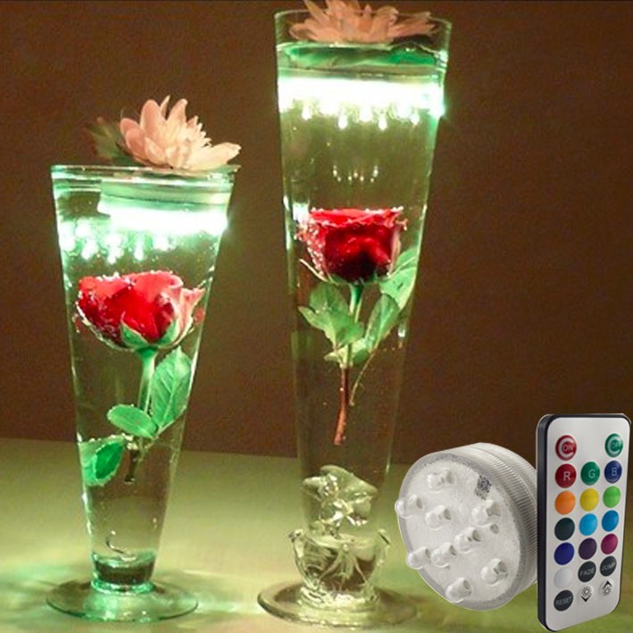 Small Mini Waterproof colorful LED Light For Paper Lantern Party Wedding Decoration Mariage