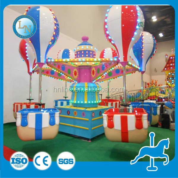 New playground equipment cheap manufacturing amusement park kids ride samba balloon for sale