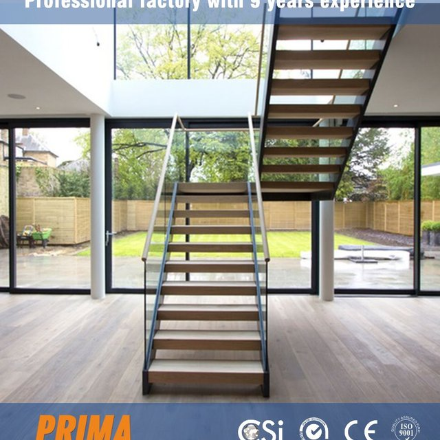 Interior Duplex Glass Stairs Railing Kits Stair Stringer