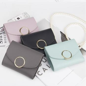 Pu Leather Short Women Wallets Small Wallet Coin Purse Ladies Clutch Female Tri-fold Wallet For Card Holder Money Bag