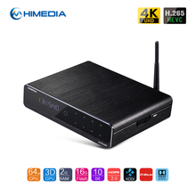 H.265/HEVC tv streaming box android 5.1 10bit HDMI2.0a output upto 4K x 2K@60 fps RAM 2GB DDR3 16GB eMMC Flash