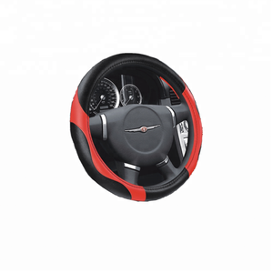 hot selling PVC leather car steering wheel cover