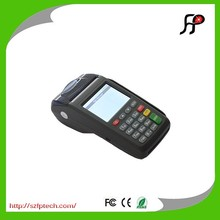 Electronic GPRS POS terminal for checkout payment with printer
