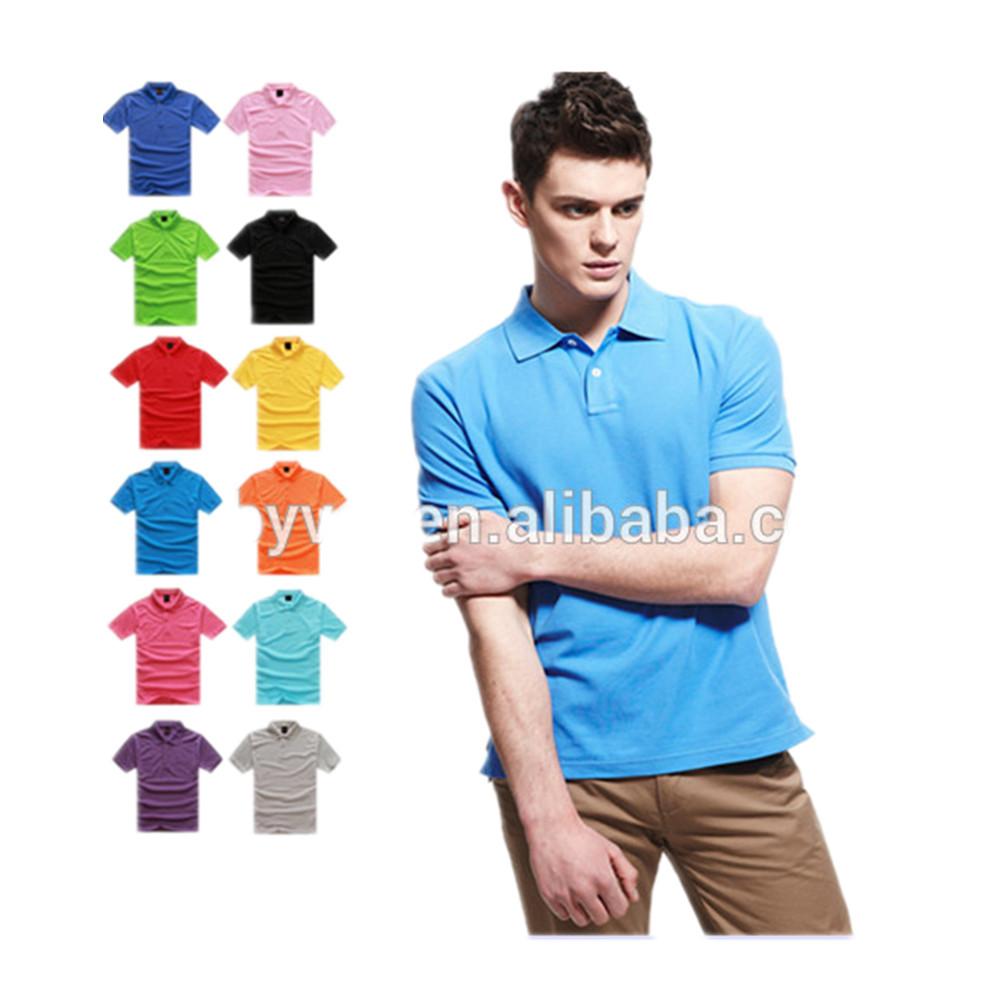 Wholesale Men Blank Polo Shirt Cheap 100 Cotton Polo Shirt For