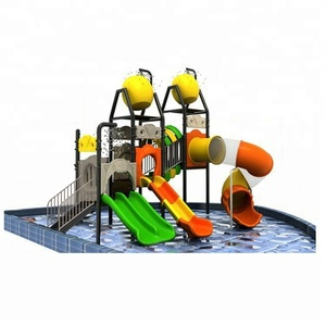 swimming pool slide play equipment water amusement park slide slide for water playground HF-G1B