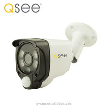 Q-SEE USA Brand 2017 New peoduct 1080P 2PCS White Light+2PCS Array IR LED, 20Meter IR Distance PIR AHD Bullet Camera