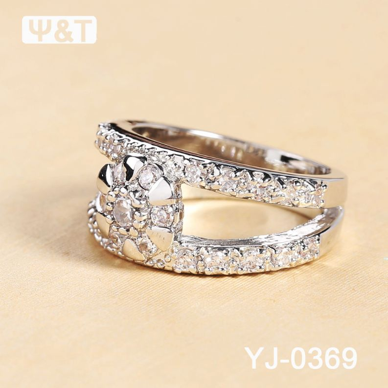Gold Plated Top Quality Wedding Ring Tanishq Artificial Rings Jewellery