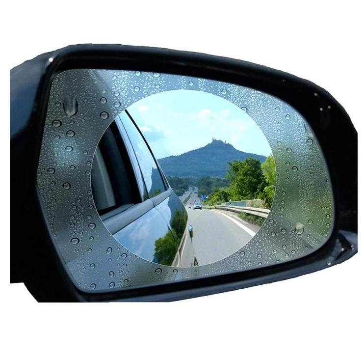 Car Rearview Mirror Glass Film Waterproof Anti-Fog Window Membrane