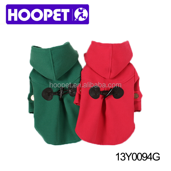 Warm winter soft pet dog clothing pet clothes display