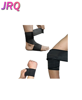 Weight Lifting Elastic Bandage Calf Brace Protector Leggings Wrap