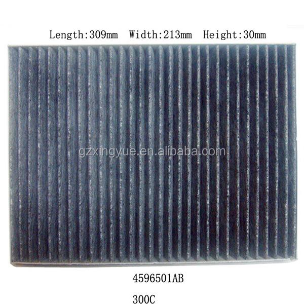 4596501ab cabin air filter for chrysler 300 dodge charger. Black Bedroom Furniture Sets. Home Design Ideas