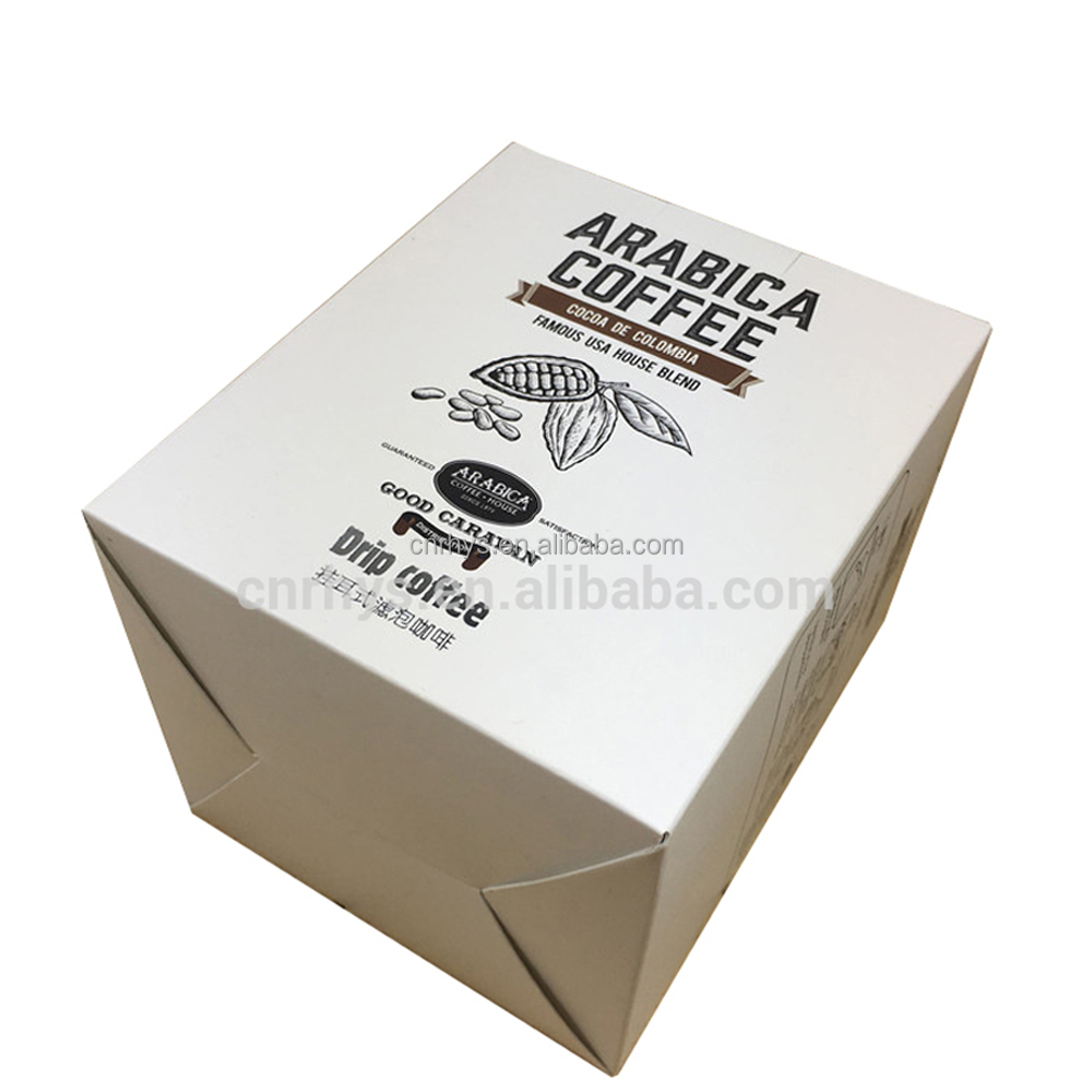 custom design cardboard paper chocolate coffee mug gift box