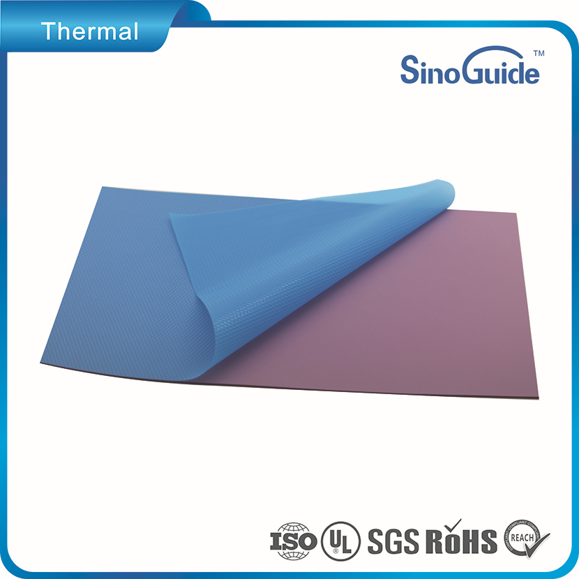 High Thermal Conductivity Heat Conductive Silicon Adhesive Electrical Insulating Pad