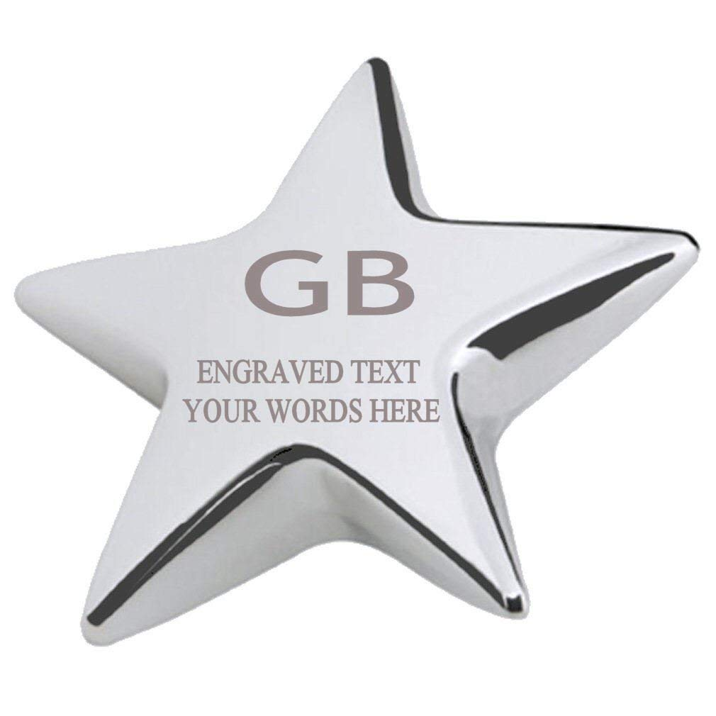 GB Office Desk Paperweight Engraved