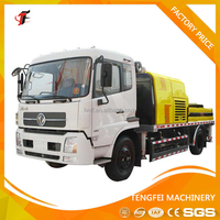 High quality of concrete pump car