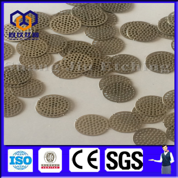 low price Filter net plain steel wire cloth disc / wire mesh screen