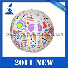 inflatable beach ball with toy inside